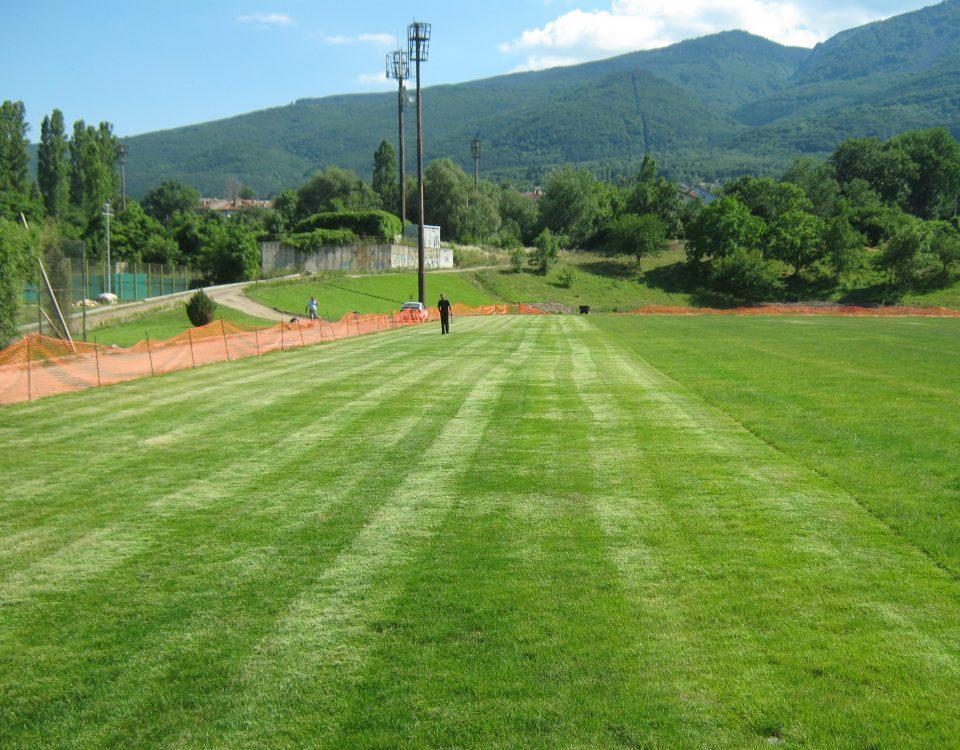 Стадион Драгалевци футболен терен с естествена трева (3)